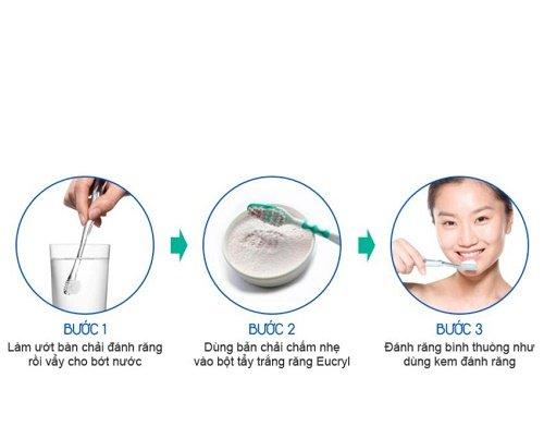 Tìm hiểu về bột tẩy trắng răng eucryl 2